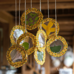 Fabric and Nature Suncatcher + Back to School Deals