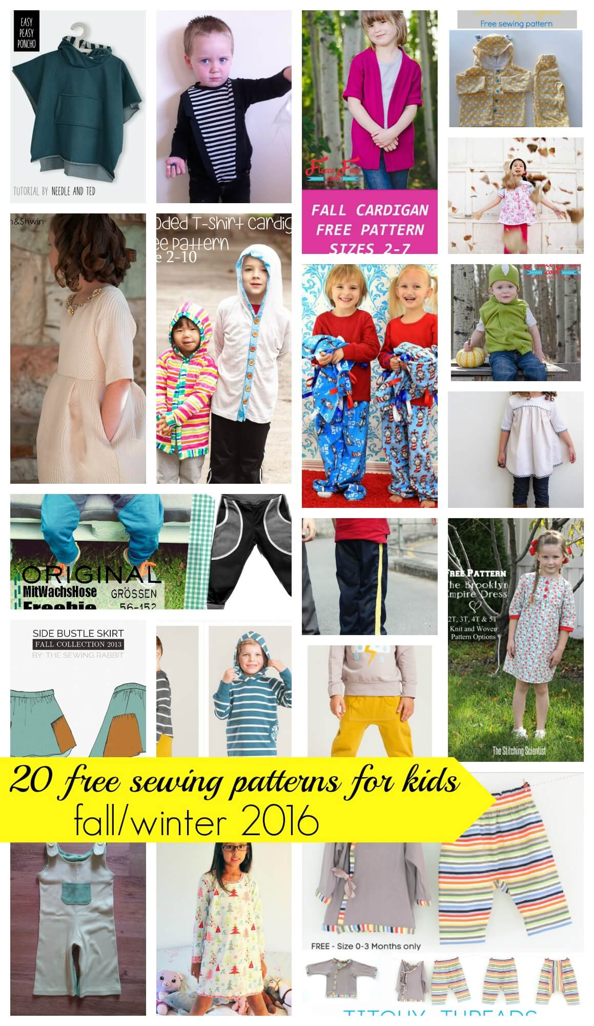 20 free sewing patterns for kids winterfall 2016 life sew savory free sewing patterns for kids winterfall 2016 from nap time creations jeuxipadfo Images