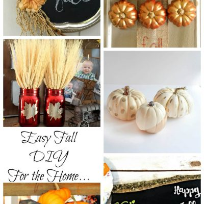 Easy Fall DIY & Create Link Inspire Party