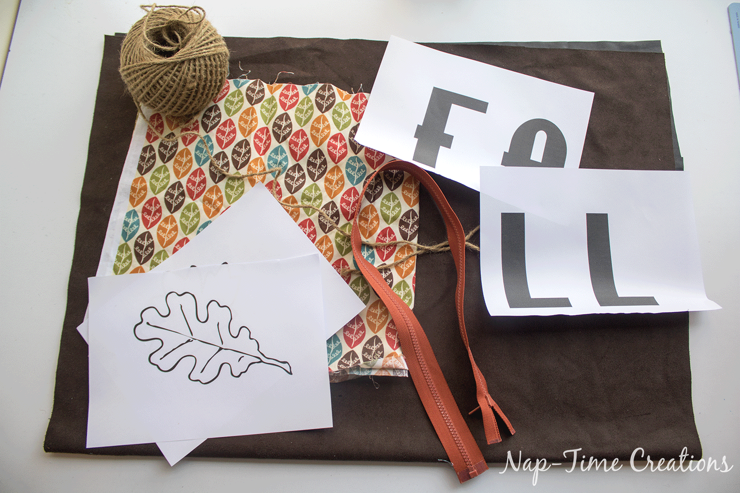 fall-applique-pillow-tutorial