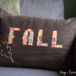 Fall Applique Pillow Tutorial
