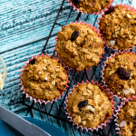 Cranberry Almond Crunch Muffins