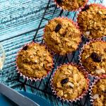 Cranberry Almond Crunch Muffins