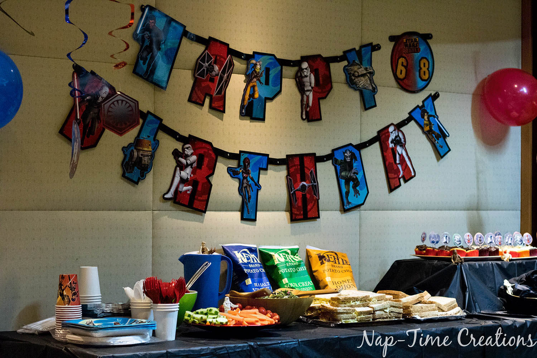 Easy Star Wars Birthday Party