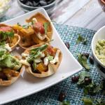 Mini Fajita Bowls and Easy Guacamole
