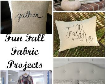 Fun Fall Fabric Projects & Create Link Inspire Party