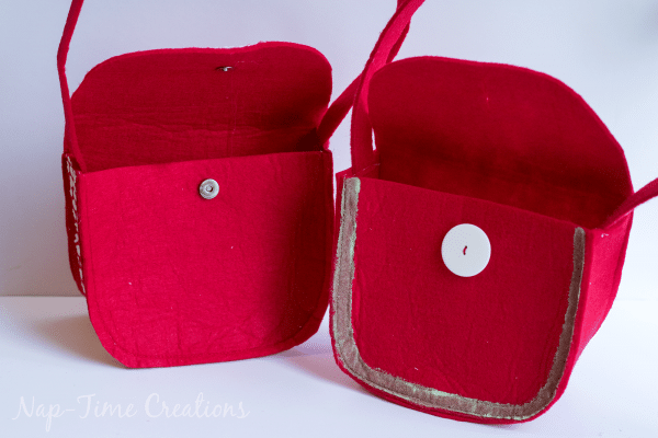 small felt purse sewing pattern