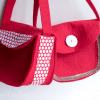 small felt purse