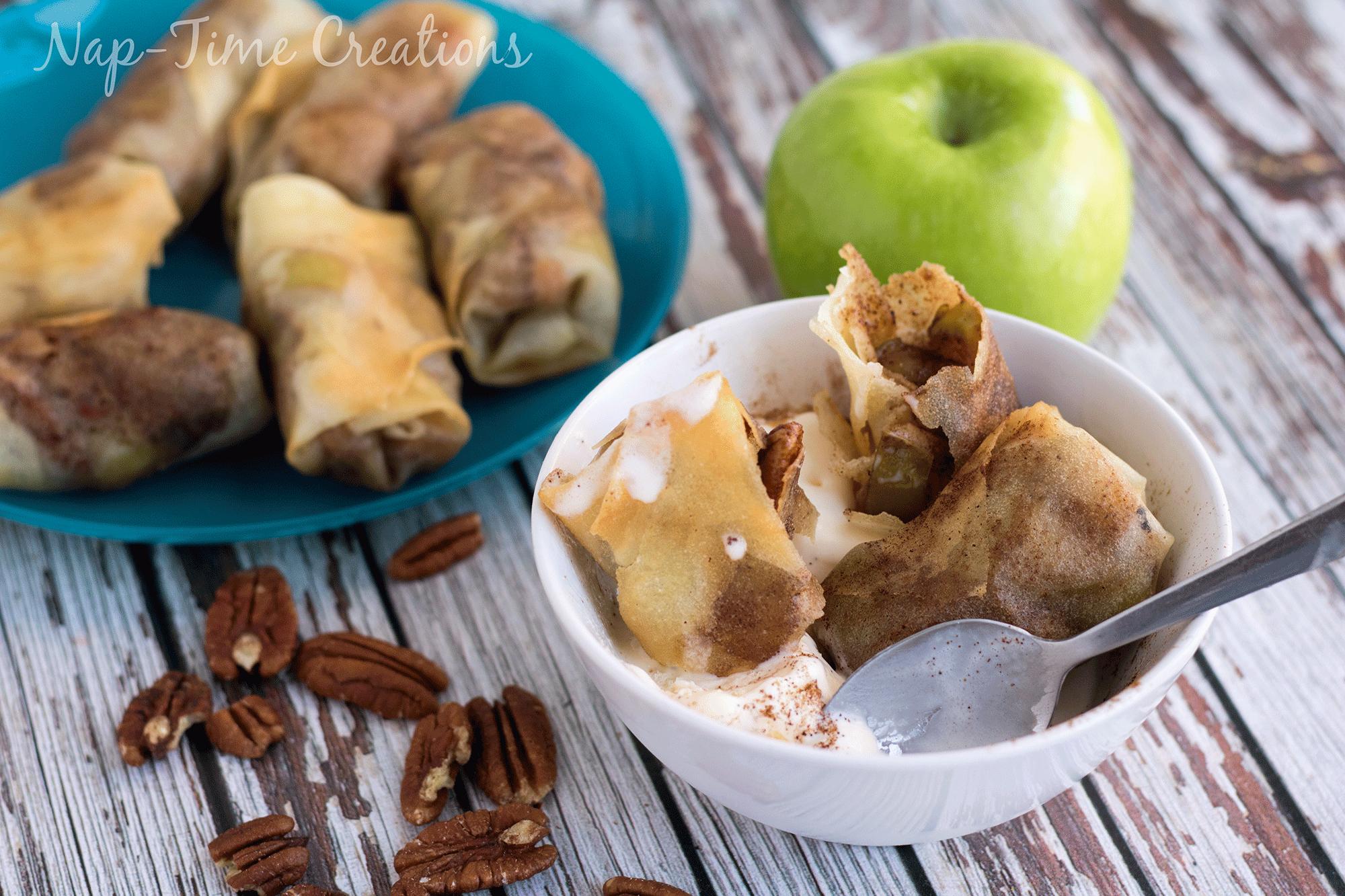 apple pecan rolls