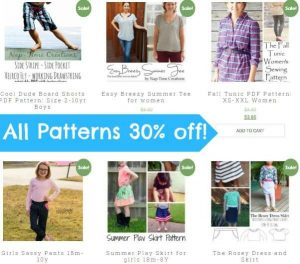 Huge Pattern Sale
