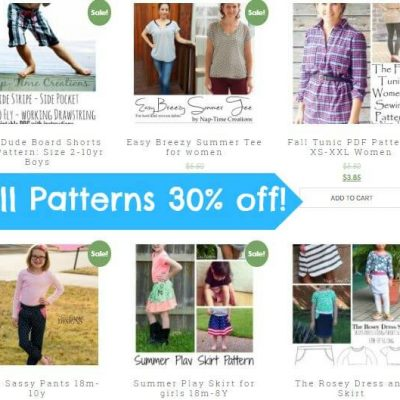 Huge Pattern Sale