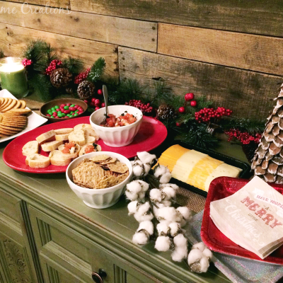 Holiday Appetizer Buffet for Easy Entertaining!