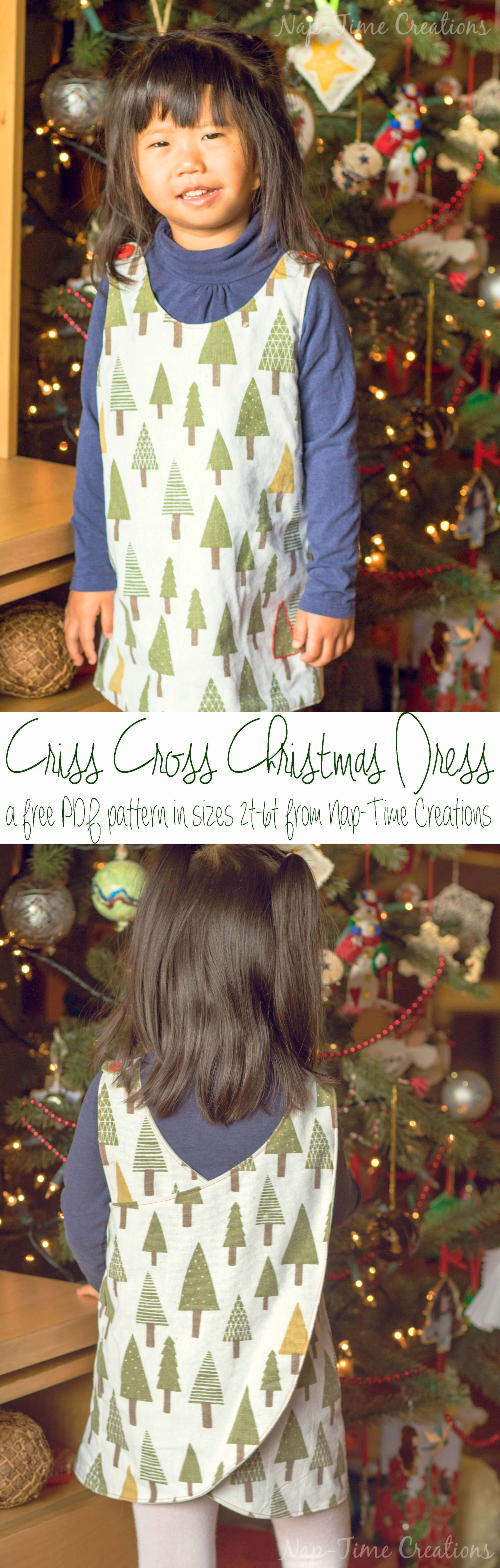 christmas jumper free pattern a-criss-cross-christmas-dress-from-nap-time-creations