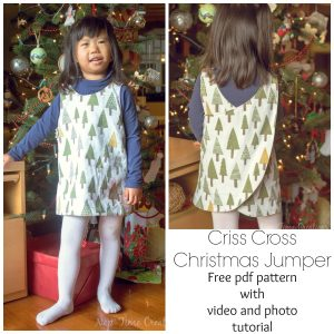 Christmas Jumper Free Pattern – video tutorial