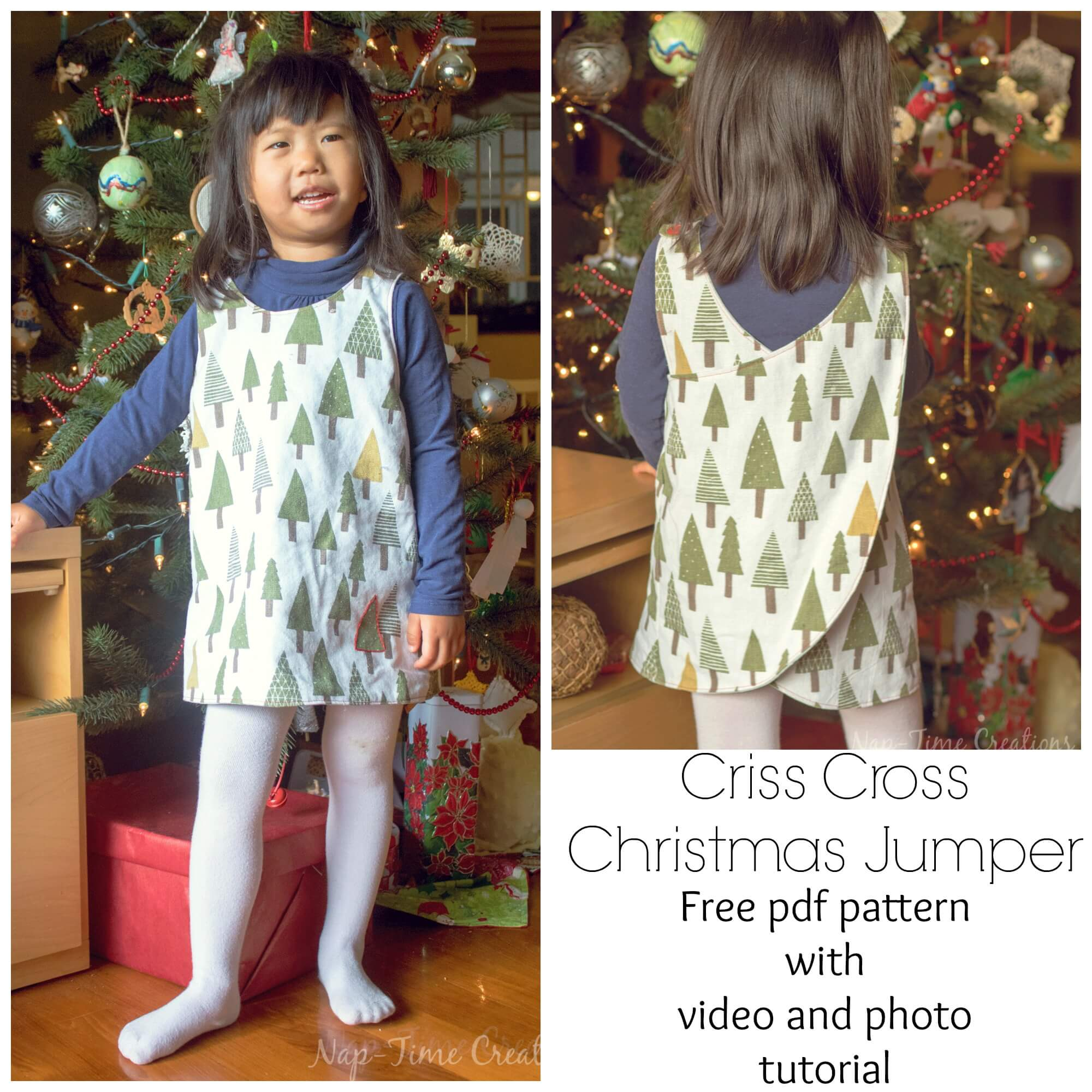Christmas Jumper Free Pattern – video tutorial