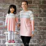 Color Blocked Tunic Free Pattern – Mommy and Me pattern