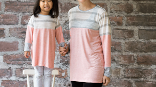 Color Blocked Tunic Free Pattern - Mommy and Me pattern