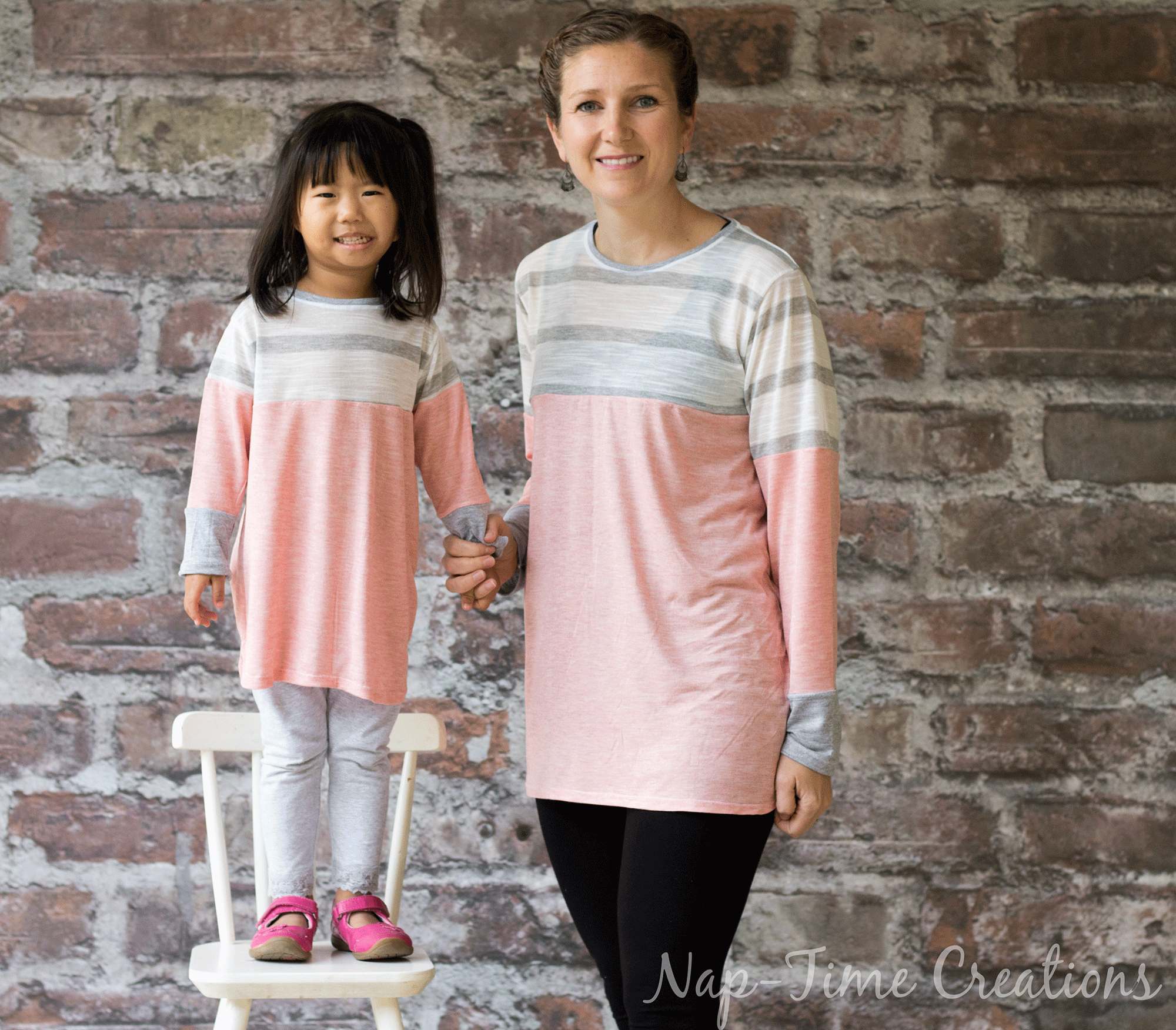 Color Blocked Tunic Free Pattern