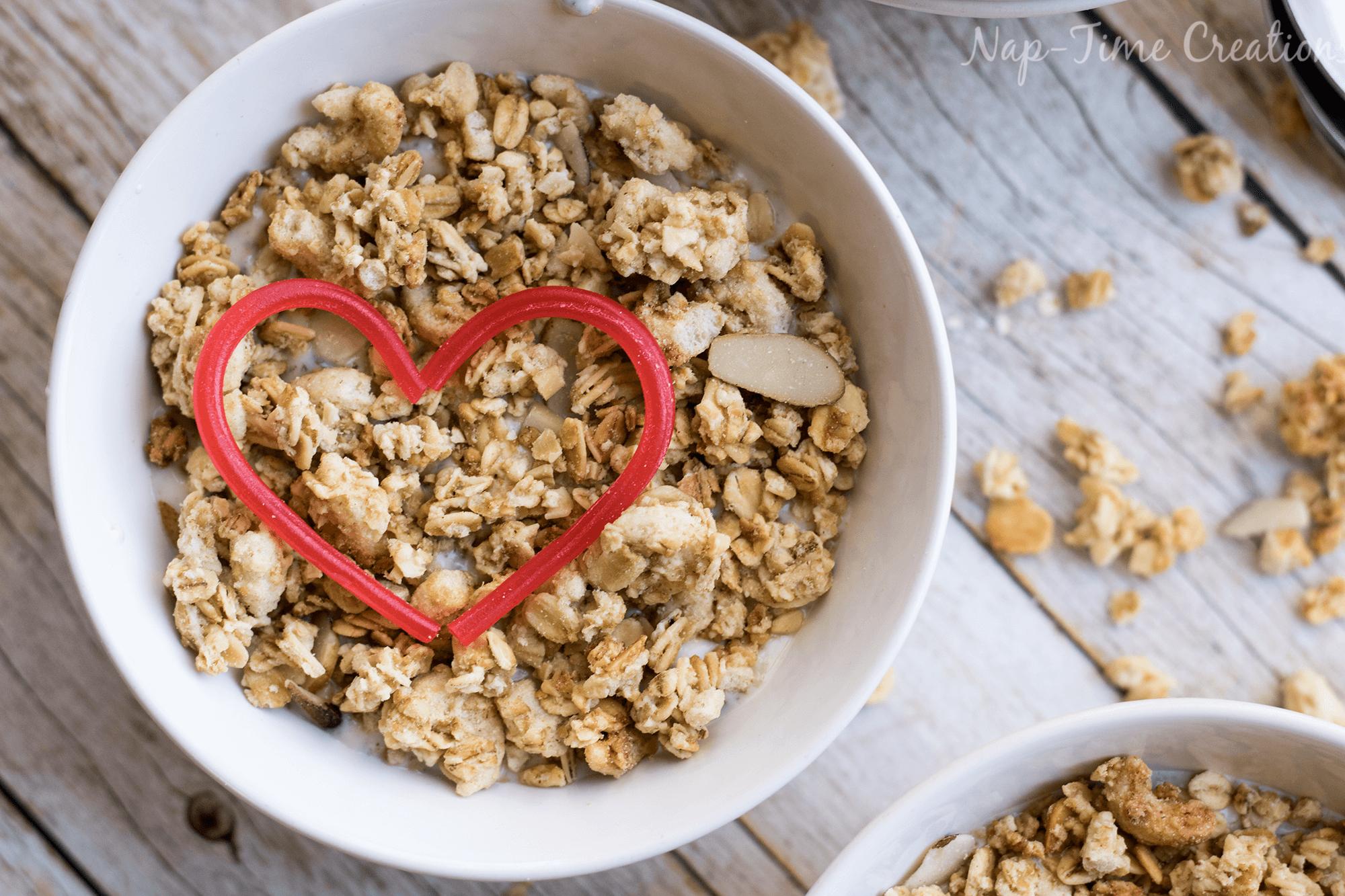Grinchy Granola – a Christmas Breakfast