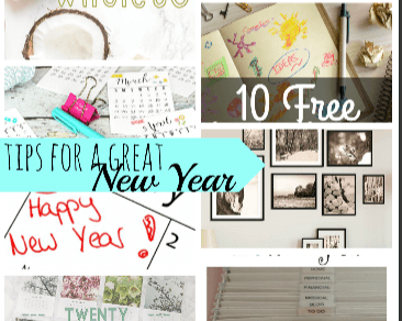 Tips for a great New Year and Create Link Inspire Party