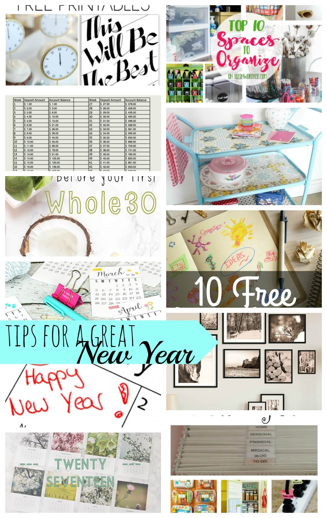 tips for a great new year from Nap-Time Creations