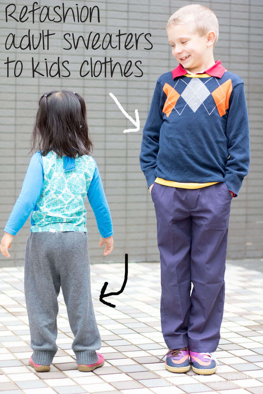 refashion sweater kids clothes from-Nap-Time-Creations