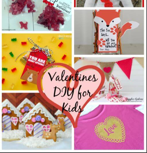 Valentines DIY for Kids and Create Link Inspire Party