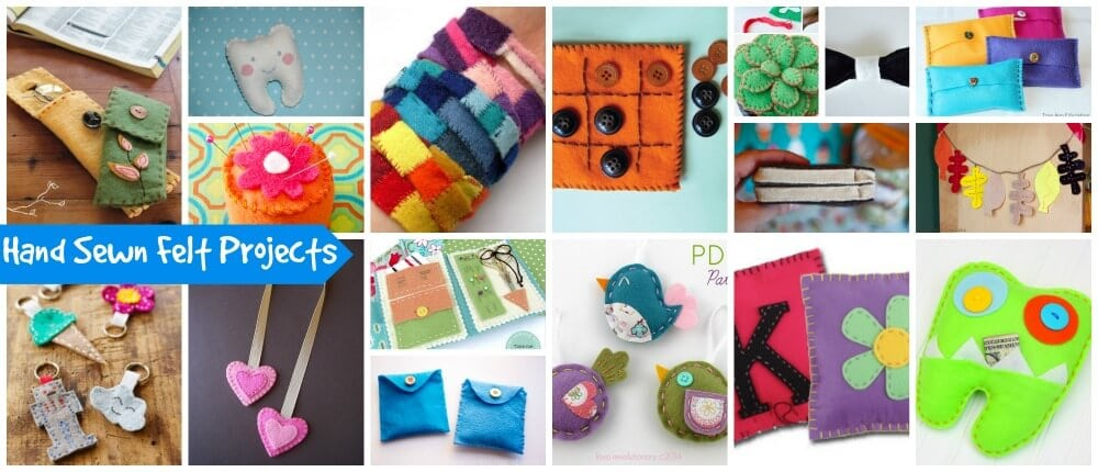 Hand Sewn Felt Projects Long