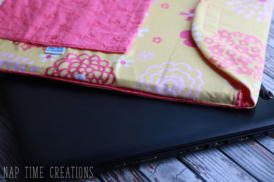 Padded Laptop Sleeve Sewing Tutorial - Life Sew Savory