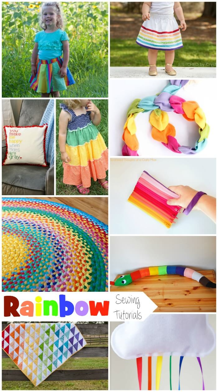 Rainbow Sewing Projects from Nap-Time Creations