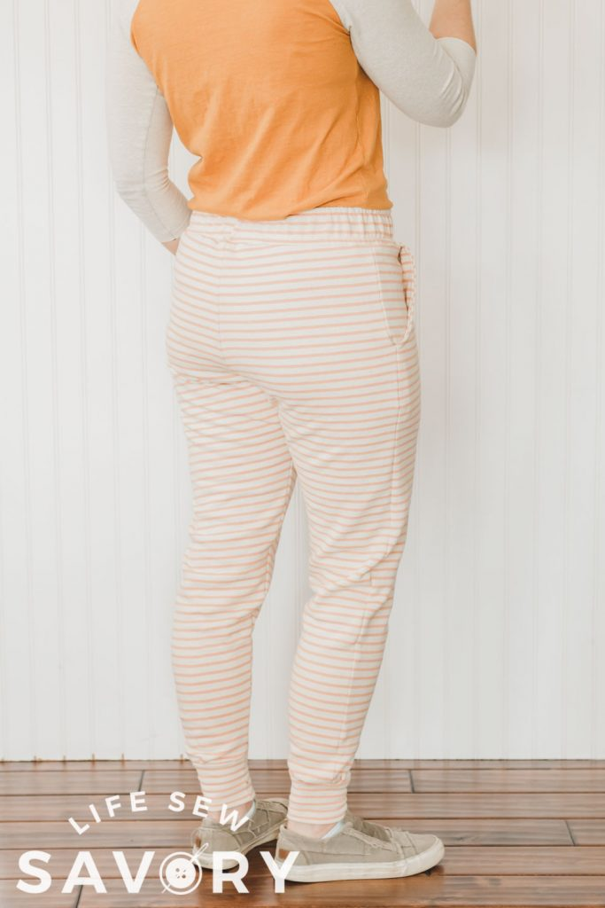 free sewing pattern for womens joggers