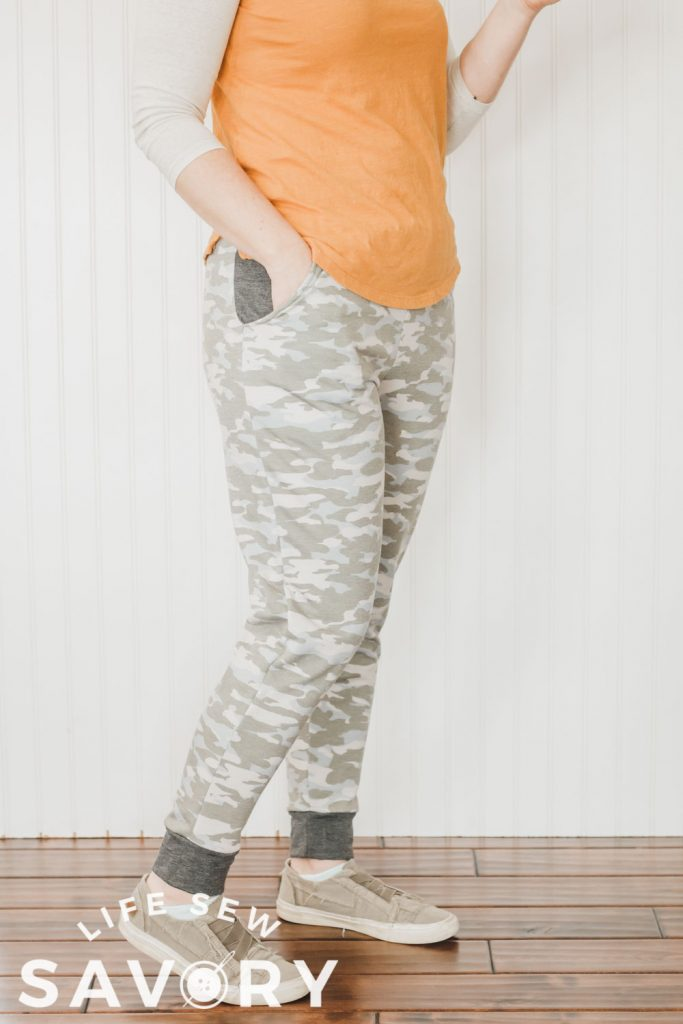 free jogger sewing pattern