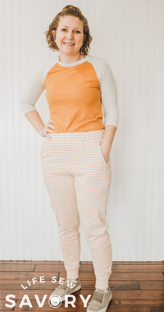sew a pair of joggers for women