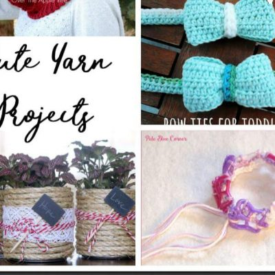 Cute Yarn Projects and Create Link Inspire Party