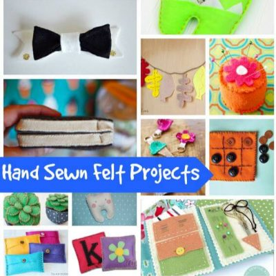 15 Hand Sewn Felt Projects that are ADORABLE