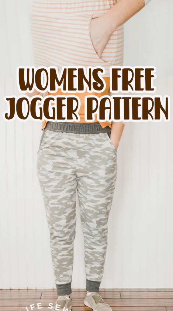 womens jogger pattern free sewing