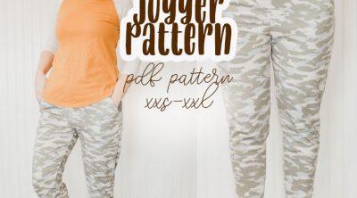 womens free jogger pattern