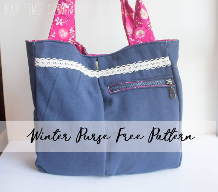 Winter Purse Free Sewing Pattern