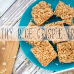 Healthy Rice Crispie Treats with Honey and Peanut Butter