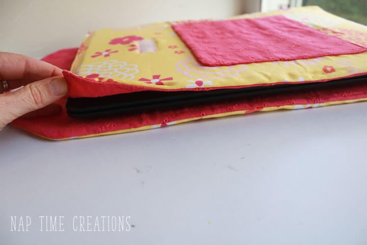 DIY lap top case with padding