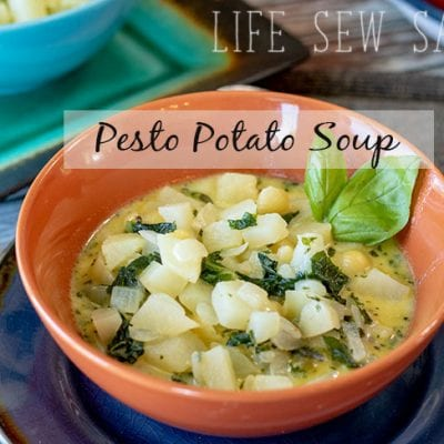 Pesto Potato Soup Recipe