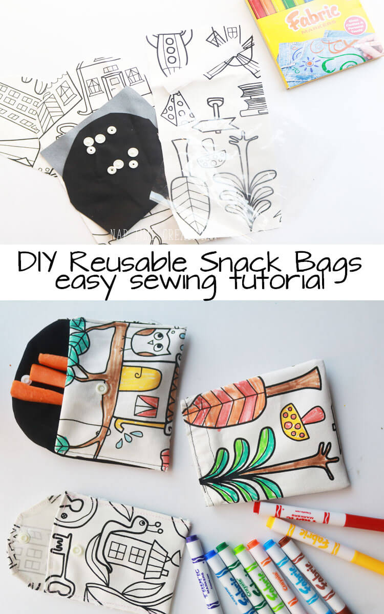 reusable snack bags sewing-tutorial-from-Nap-Time-Creations