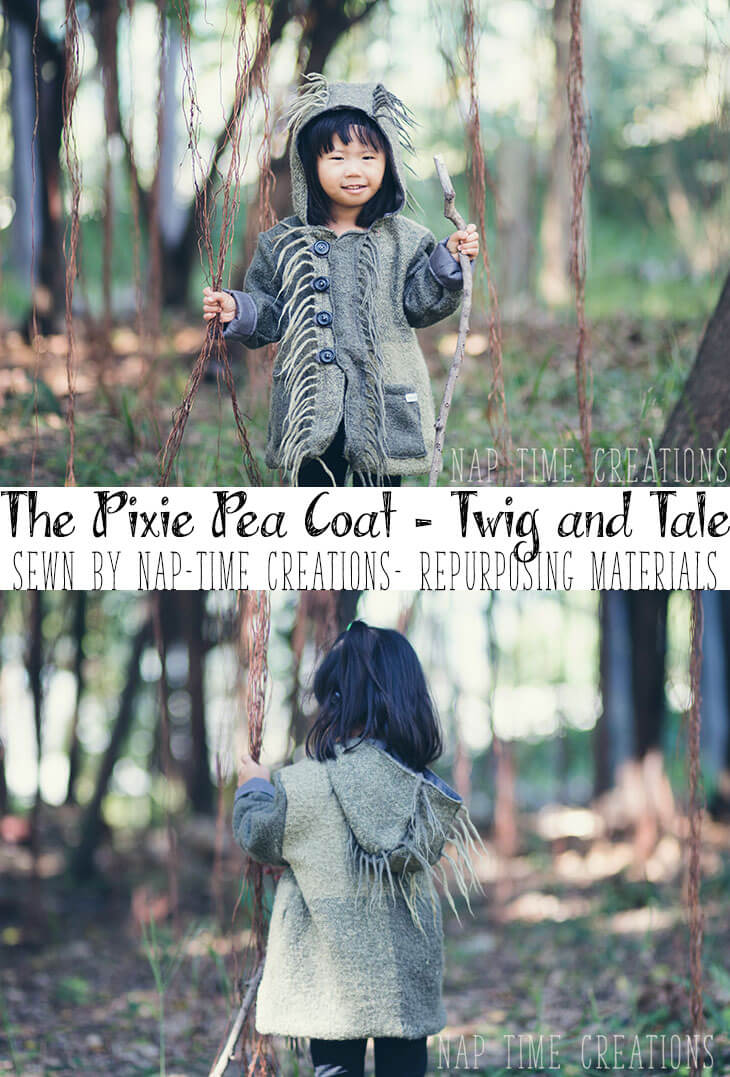 Coat from a Blanket - Wild Things Coat by Nap-Time Creations