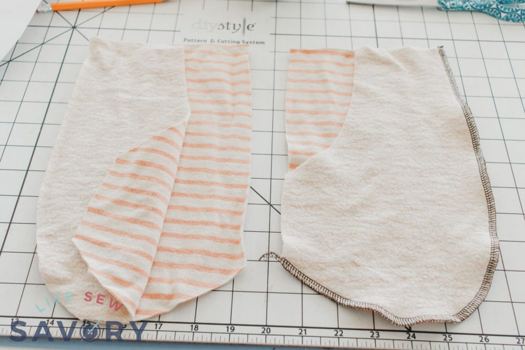front pockets for jogger pattern