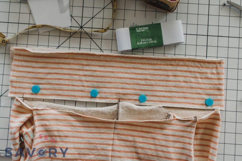 waistband cutting