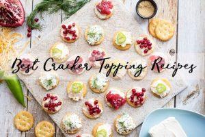 Best Cracker Appetizers with RITZ