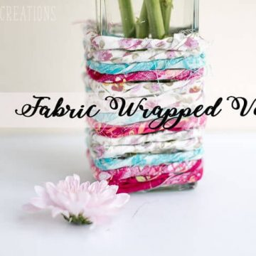 fabric-wrapped-vase-easy DIY from Nap-Time Creations