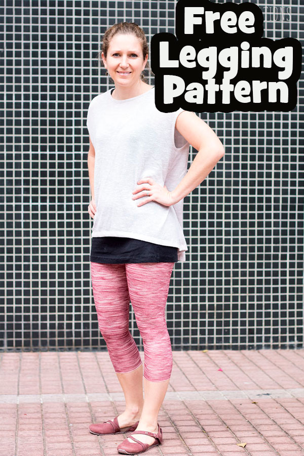 How to make leggings with a free sewing pattern