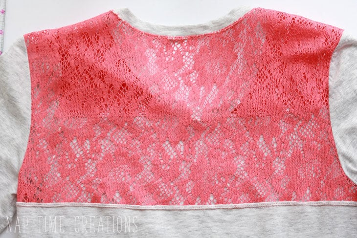 Lace Yoke Shirt Tutorial with free pattern - Life Sew Savory
