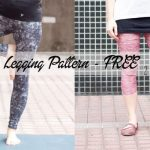 free leggings pattern for women from Nap-Time Creations